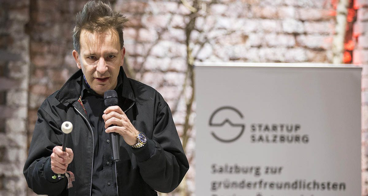 Gerald Hoerhan aka Investment Punk bei Startup Salzburg
