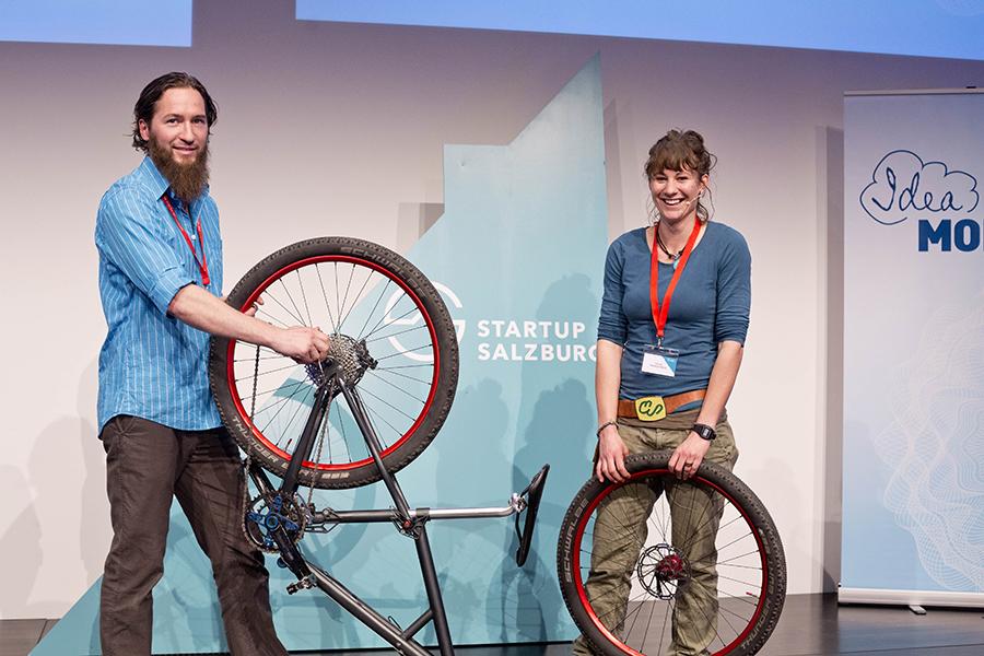 EAST Bike beim Startup Salzburg Demo Day
