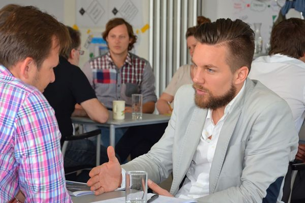 Ludwig Stepan beim Startup Salzburg Weekend
